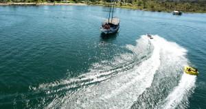 Lago Corumbá em Caldas Novas