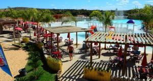 Lagoa Termas Parque em Caldas Novas