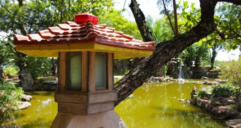 Imagem representativa: Jardim Japonês em Caldas Novas